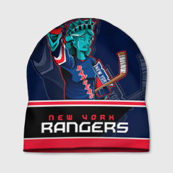 Шапка 3D 'New York Rangers'