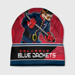 Шапка 3D 'Columbus Blue Jackets'