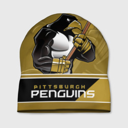 Шапка 3D Pittsburgh Penguins