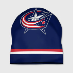 Шапка 3D Columbus Blue Jackets