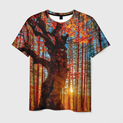 ee27536be9e65 Купить футболку с лесом, модная одежда с рисунками леса и деревьев ...