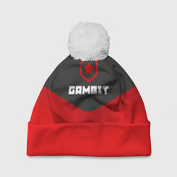 Шапка 3D c помпоном Gambit Gaming Uniform
