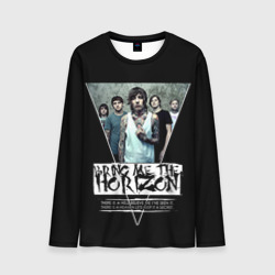 Bring Me The Horizon Мужской лонгслив 3D Мужские 3D лонгсливы