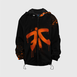 Детская куртка 3D 'cs:go - Fnatic (Black collection)'
