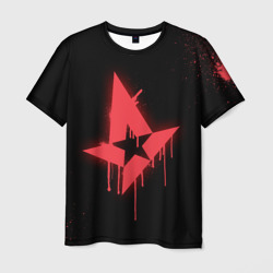Мужская футболка 3D cs:go - Astralis (Black collection)