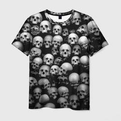 aab9b64688a72 Купить футболку с черепом, модная одежда с принтами и рисунками ...