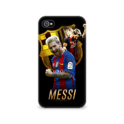Чехол для Apple iPhone 4/4S 3D Messi