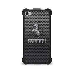 Чехол для Apple iPhone 4/4S flip Ferrari