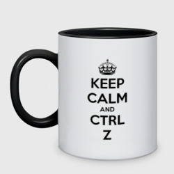 Keep Calm And Ctrl + Z