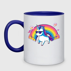 Rainbow Unicorn in Sunglasses