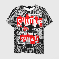 'Powerlifting shut up and squat'