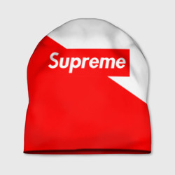 Шапка 3D 'Supreme Red and White'