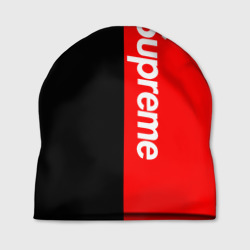 Шапка 3D 'Supreme Red and Black'