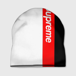 Шапка 3D 'Supreme Red Black White'