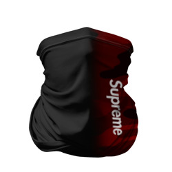 Бандана-труба 3D 'Supreme Military Black Red'