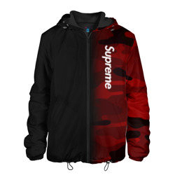 Мужская куртка 3D Supreme Military Black Red