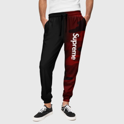 Мужские брюки 3D 'Supreme Military Black Red'