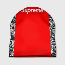 Шапка 3D 'Supreme Brand color'