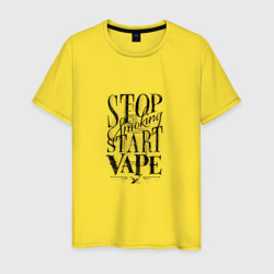 Stop smoking, start vape
