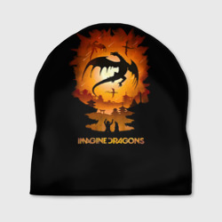 Шапка 3D 'Драконы Imagine Dragons'