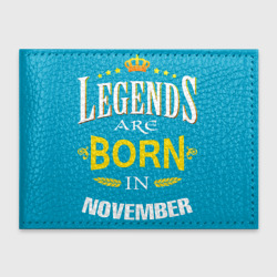 Legends are born in november