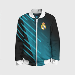 Детский бомбер 3D 'Real Madrid Creative uniform'