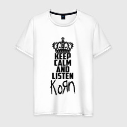 Keep calm and listen Korn