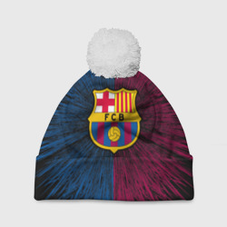 Шапка 3D c помпоном 'FC Barca 2018 Creative uniform'