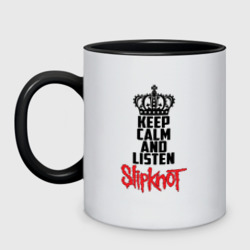 Keep calm and listen Slipknot
