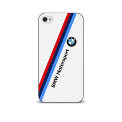 BMW Motorsport Carbon   Чехол для Apple iPhone 4/4S soft-touch Лучшие продажи