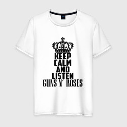 Keep calm and listen Guns-n-roses
