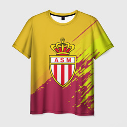 'FC Monaco abstract style'