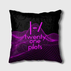 twenty one pilots neon music Подушка 3D Подушки 3D