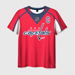 Мужская футболка 3D Ovechkin Washington Capitals Red