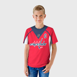 фото Ovechkin Washington Capitals Red