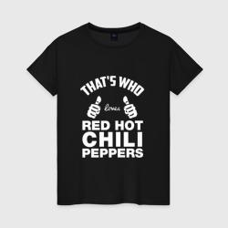 Вот кто любит Red Hot Chili Peppers