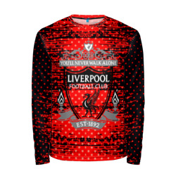 Мужской лонгслив 3D 'Liverpool sport uniform'