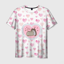 Купить Pusheen hearts