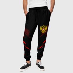 Мужские брюки 3D 'Russia-sport collection RED'