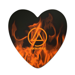 Linkin park in fire