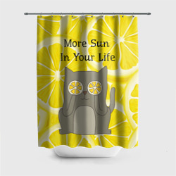More Sun In Your Life Штора 3D для ванной Шторы для ванной 3D