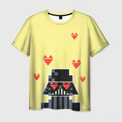 Darth Vader with hearts