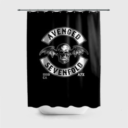 Штора 3D для ванной Avenged Sevenfold