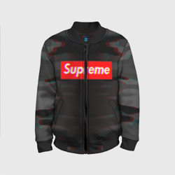 SUPREME GREY GLITCH