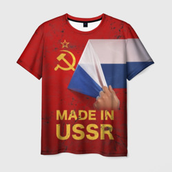 MADE IN USSR Мужская футболка 3D Я русский
