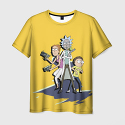 Summer, Rick, Morty