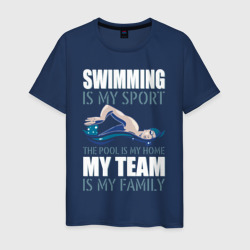 Swimming is my sport