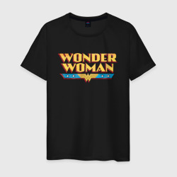 Wonder Woman Text Logo