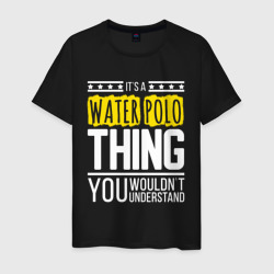 It`s a water polo thing