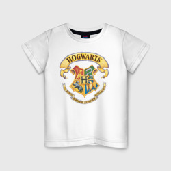 Wizarding World Детская футболка хлопок Coat of Hogwarts в Великом Новгороде